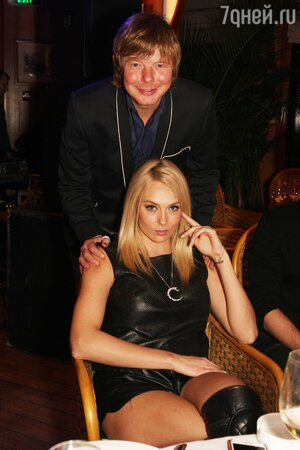 Андрей Григорьев-Аполлонов с женой Машей