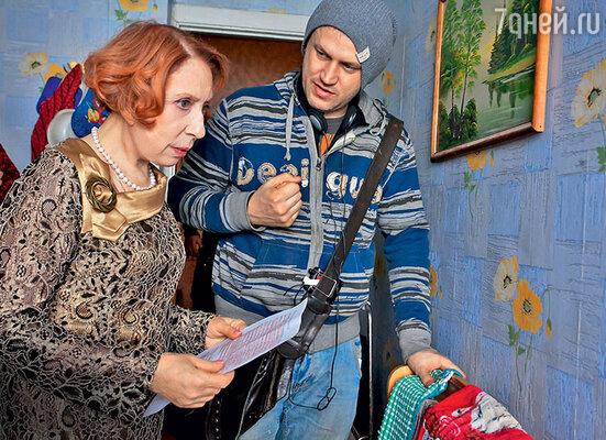 Инна Чурикова с режиссером Василием Сигаревым