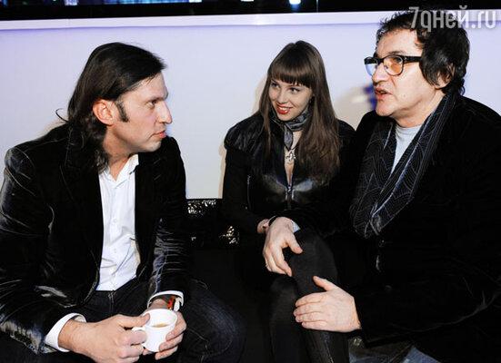 Александр Ревва и Дмитрий Дибров с супругой