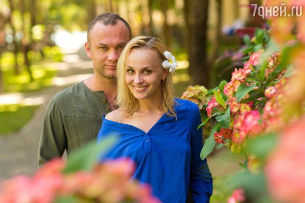 Дмитрий Ермак с женой