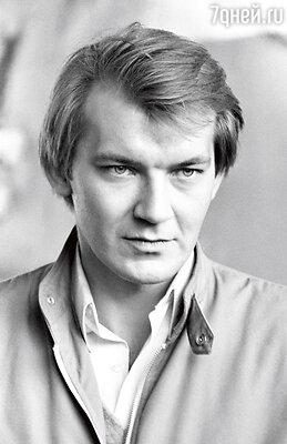 Первый муж Яны актер Игорь Волков. 1986 г.