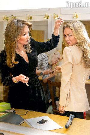 Стефания с мамой Еленой