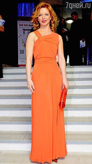 Алиса Гребенщикова  на церемонии вручения премии «Ника»