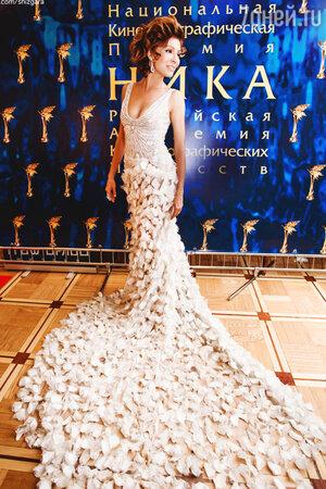 Елена Подкаминская  на церемонии вручения премии «Ника»
