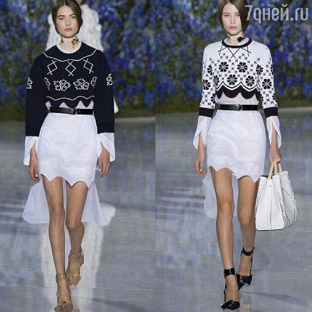 На показе Dior