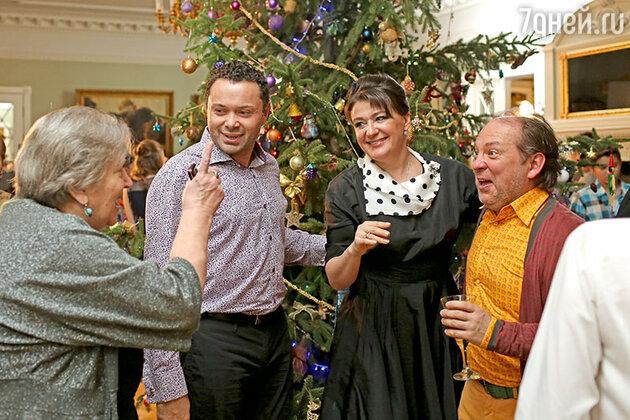 Андрей Носков, Анастасия Мельникова и Андрей Федорцов