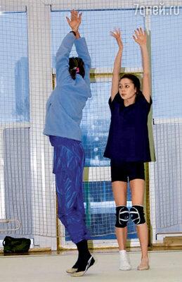 Даже с сильными травмами гимнастка никогда не прекращала тренировок