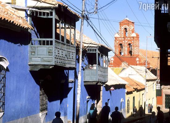 Потоси, основанный испанцами в 1545 году, удивляет своей колоритной архитектурой