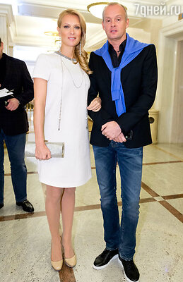 Олеся Судзиловская с мужем Сергеем