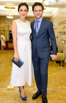 Константин Крюков с женой Алиной