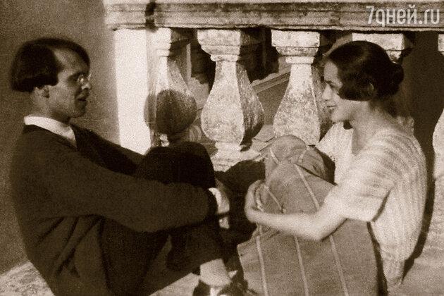 Владислав Ходасевич и Нина Берберова