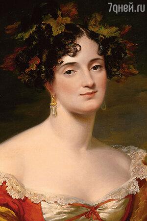 Фото репродукции портрета Софьи Станиславовны Киселевой работы Джорджа Хейтера