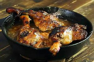 Утка с хрустящей корочкой: рецепт от шеф-повара Анатолия Борща