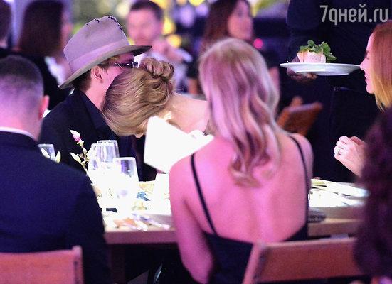 Джонни Депп и Эмбер Херд  в Лос-Анджелесе. Январь  2014 года