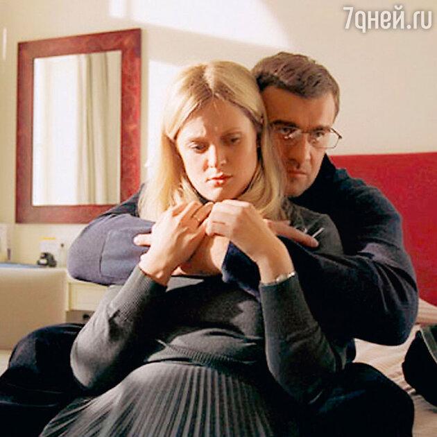Анна Михалкова и Михаил Пореченков