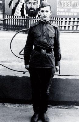 Во время службы в армии