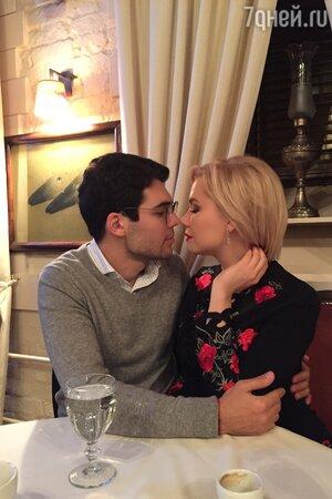 Юлия Егорова с женихом
