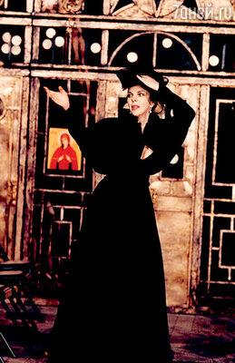 Консуэло в спектакле «Татьяна Репина». 1998 г.