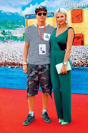 Вадим Галыгин с женой Ольгой
