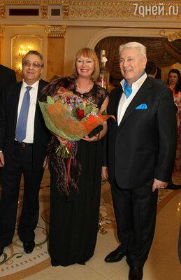Супруги Винокур и Геннадий Хазанов