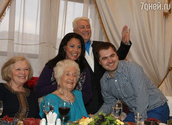 Поздравления от Надежды Бабкиной и Евгения Гора