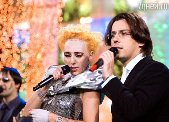 Жанна Агузарова и Максим Галкин