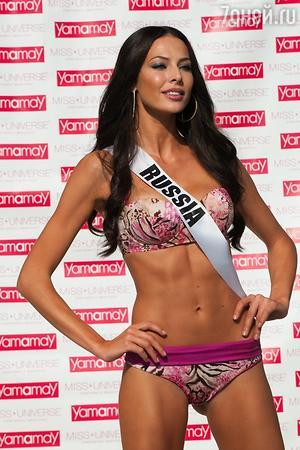 Юлия Алипова на конкурсе «Мисс Вселенная»