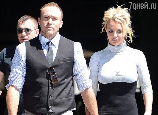 Бритни Спирс со своим новым возлюбленным Дэвидом Лукадо