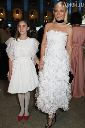 Аврора с дочкой Авророй