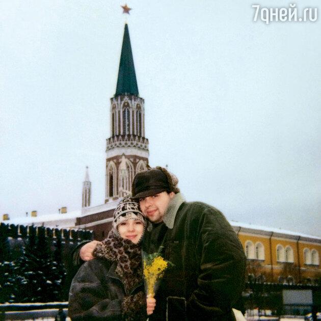 Максим Фадеев с женой
