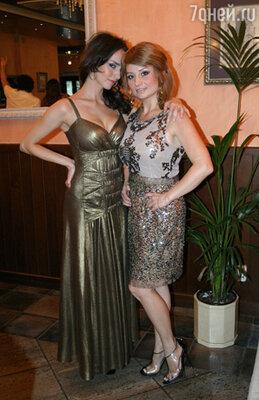 Юлия Зимина с сестрой Леной
