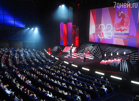 В Москве стартовал 33-й Московский Международный кинофестиваль
