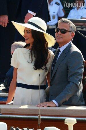 Джордж Клуни и Амалия Аламуддин