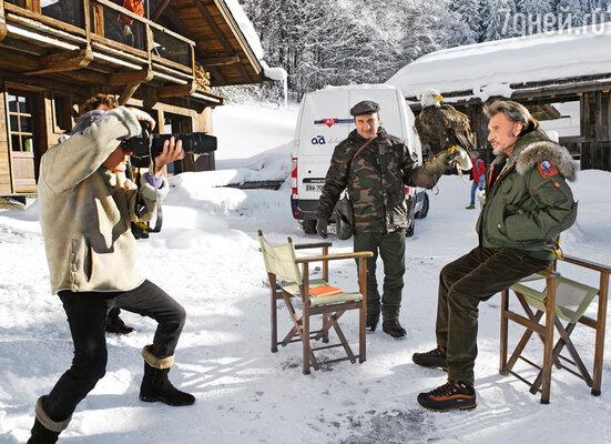Недавно я консультировал рокера Джонни Холлидея, который в новом фильме Клода Лелуша играет роль военного корреспондента