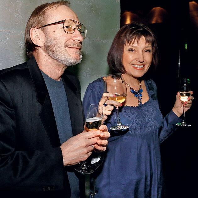Екатерина Уфимцева с мужем Сергеем Варнавским