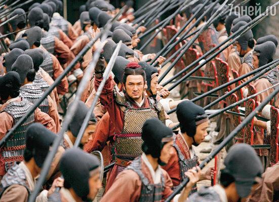 Кадр фильма «Битва у Красной скалы»