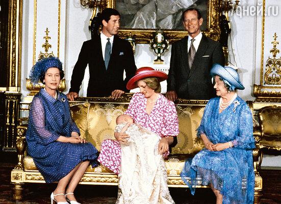 Поначалу Диана пришлась по сердцу всей семье (кроме разве что принца Чарльза)