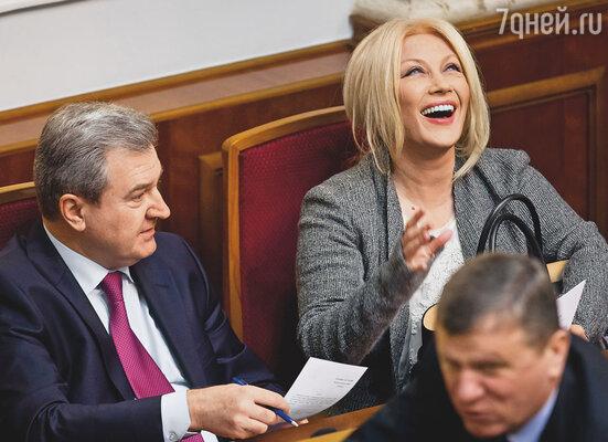 Таисия теперь высоко забралась: недавно стала депутатом Верховной рады