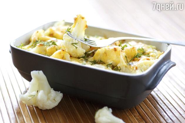 Запеканка из цветнои капусты: рецепт от шеф-повара Мишеля Ломбарди