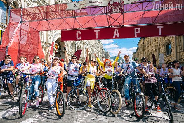 В минувшее воскресенье, 20 июля, полторы тысячи москвичей проехали по столице на велосипедах