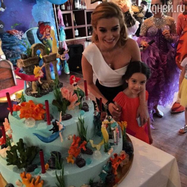 Ксения Бородина с дочкой