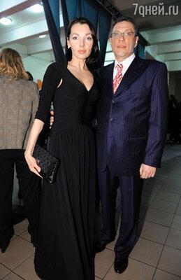 Наталья Антонова с мужем