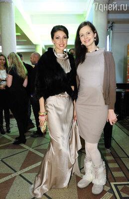 Анастасия Макеева и Наталья Лесниковская