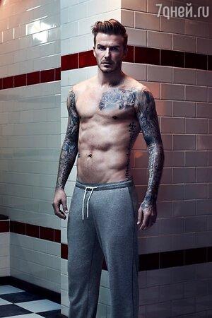 Дэвид Бекхэм в 2013 году вновь снялся в рекламе нижнего белья
