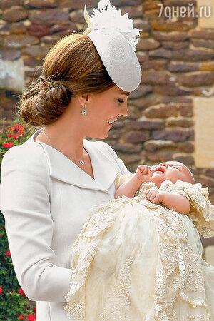 Кейт Миддлтон и малышка Шарлотта