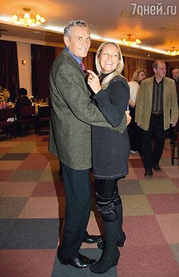 Александр Михайлов с женой Оксаной