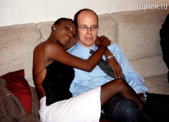 С Николь Кост.  2005 г.