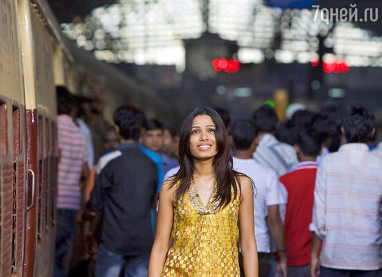 «Ночь в Индии», кадр фильма «Миллионер из трущоб»