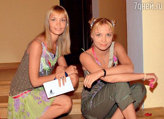 Сестры-близнецы Татьяна и Ольга Арнтгольц