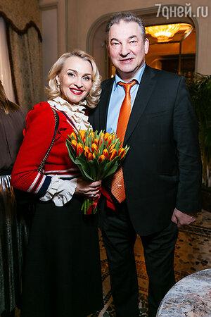 Екатерина Моисеева и Владислав Третьяк